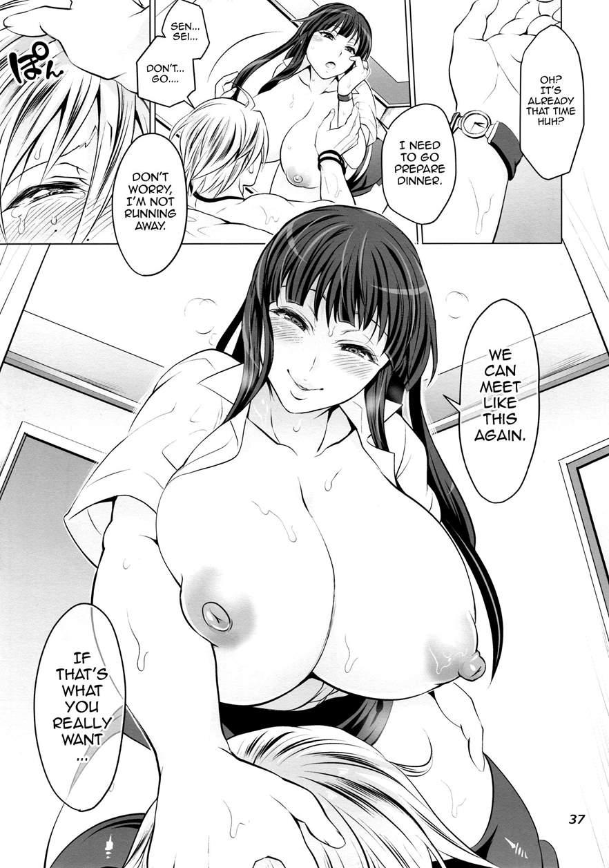 Futanari Yumiko Sensei To Komochi Ni Natta Ore Hentai