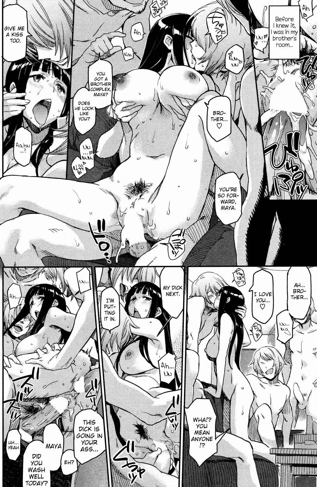Hentai manga oneshot guys legs