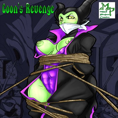 Maleficent Comic