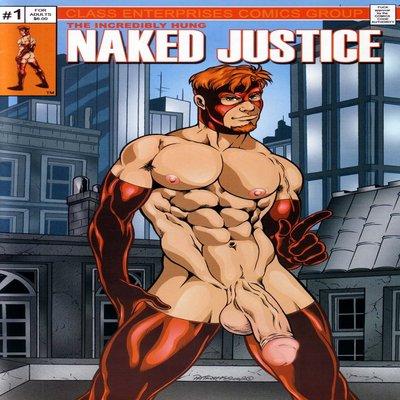 Naked Justice [Yaoi]