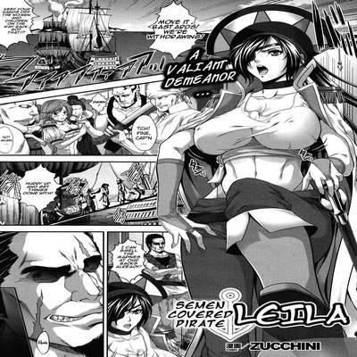 Semen-Covered Pirate Leila